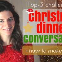 Christmas dinner conversations